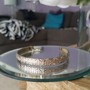 Gold Plated Sterling Silver Bracelet from Italy